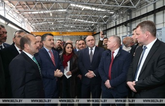 "Assembly production of tractors ""BELARUS"" in Turkey is already at the finish line"