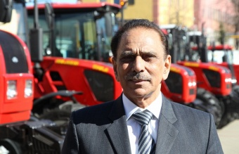 "Pakistan is ready to invest in establishing of a new assembly production of ""BELARUS"" tractors"