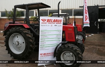 Modernized production of «BELARUS» tractors opened in Egypt