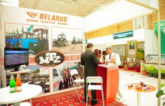 "OJSC ""MTW"" took part in the XVIII multi-specialized International Exhibition ""Ak şäherim Aşgabat"""