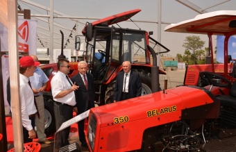 Minsk Tractor Works in the exhibition SAHARA-2015